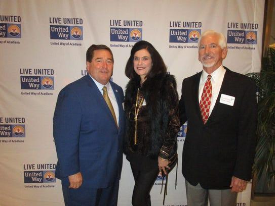 Billy Nungesser, Martha and George Latiolais