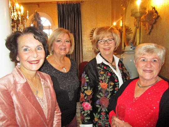 Dana LaBorde, Charlotte Marulo, Marilyn Duhe and Marie Reinhardt