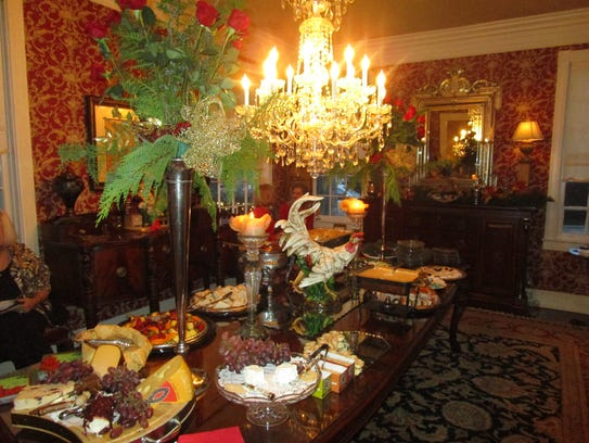 The Acadiana Symphony Women's League Christmas party