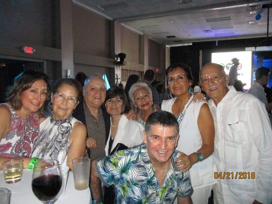 Patricia Manzanares, left, Linda Manzanares, Félix