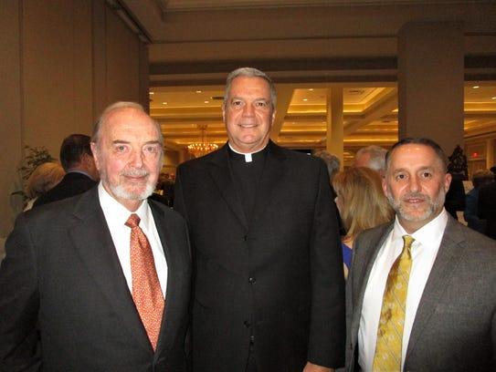 Bo Ramsay, Rev. Louis Richard and Karl Broussard