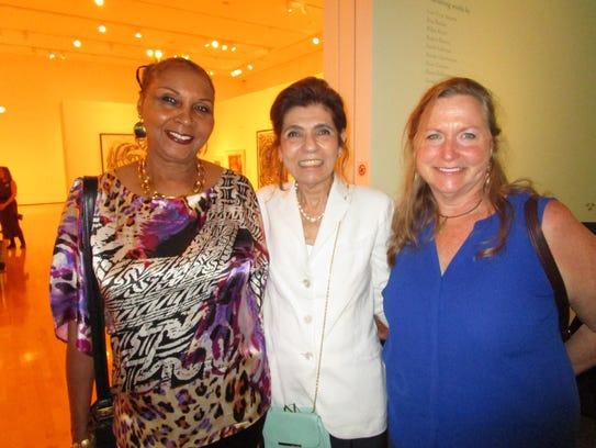 Rubye Hilliard, Joan Morotta and Susan Hester-Edmunds