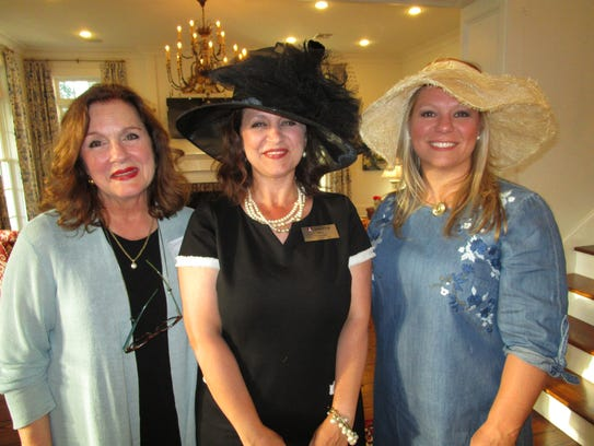 Debbie Foreman, Mary Courville and Corinne Sprague