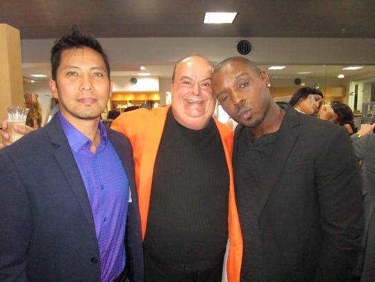 Brad Hoang, Randy Lanza and Romey Roe