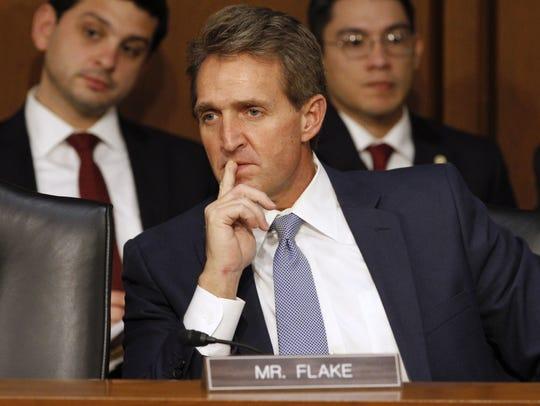 U.S. Sen. Jeff Flake, R-Ariz.