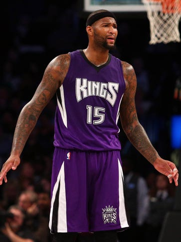 Kings center DeMarcus Cousins will be a first-time