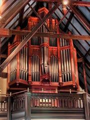 The Fisk Organ at St. John's Episcopal Church