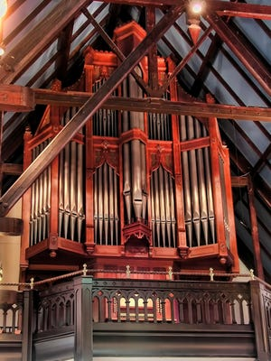 The Fisk Organ at St. John's Episcopal Church