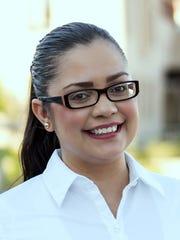 UTEP doctoral student Alejandra Castellanos.