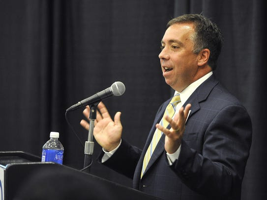 Nashville Predators President and Chief Operating Officer Sean Henry