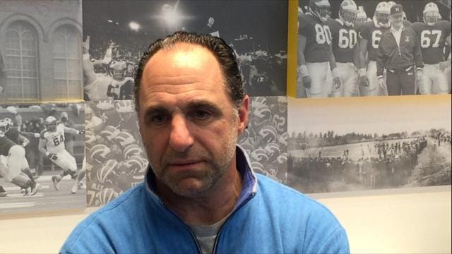 "U-M secondary coach Mike Zordich says his players like the new zone pass coverage because ""you kind of can sneak around in it a little bit and move around, and then all of sudden pop into a place and you're in position."""