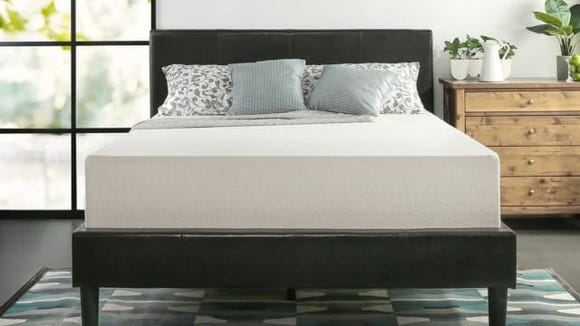 Infused with green tea, this mattress is incredibly popular with Amazon shoppers.