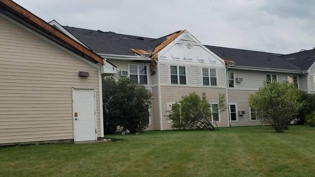 Roof and siding damage are shown at The Cedars Assisted Living in Madrid. Straightline winds damaged the assisted living facility and an attached nursing home, the latter of which was evacuated after losing power. Provided photo