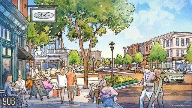 The Kedron Square project is will be built on the current Tennessee Children's Home site just off Main Street and Kedron Road, and will consist of 201 acres of commercial, restaurant, office, hotel and residential development space. The first of four construction phases will include 81 single-family homes.