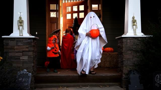 """While the Centers for Disease Control and Prevention has designated traditional trick-or-treating as a high-risk activity, New Hampshire cities and towns have been told """"it is possible to have a very safe holiday event"""" with necessary precautions in place."""