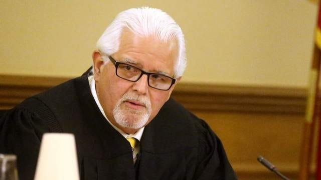 Senior Judge Paul Summers announces his decision to dismiss the case concerning the Islamic Center of Murfreesboro cemetery case on Thursday in a Rutherford County courtroom. Plaintiffs sued the ICM and the Rutherford County Board of Zoning Appeals for approving the cemetery without requiring new traffic and soils testing.