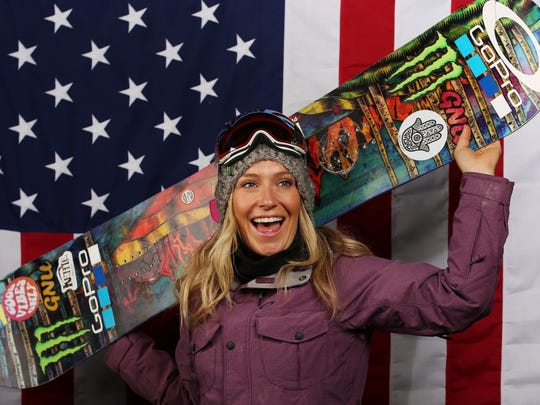 South Tahoe's Jamie Anderson looks to repeat as an Olympic champion.