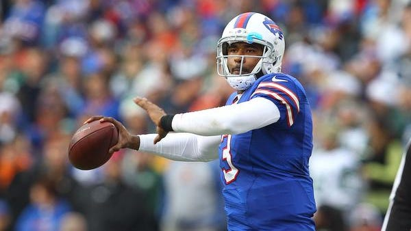 EJ Manuel passed for 1,972 yards and 11 touchdowns in 2013.