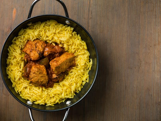 Chicken Jalfrezi Curry with Rice