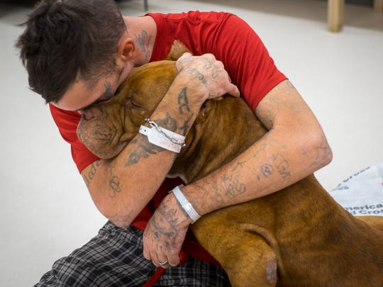 Chris Long lives with epilepsy and needs his service dog with him. Without his service dog, Long would have not have gotten the medical attention he needed while staying at a shelter.