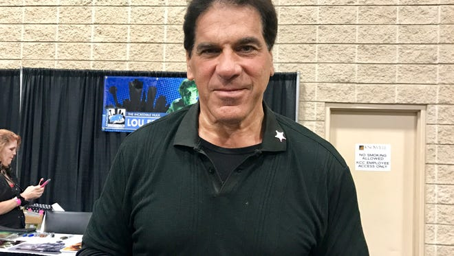 Lou Ferrigno talks about helping a fan who had a seizure at the Fanboy Expo Comic Con in Knoxville on Sunday, June 25, 2017.