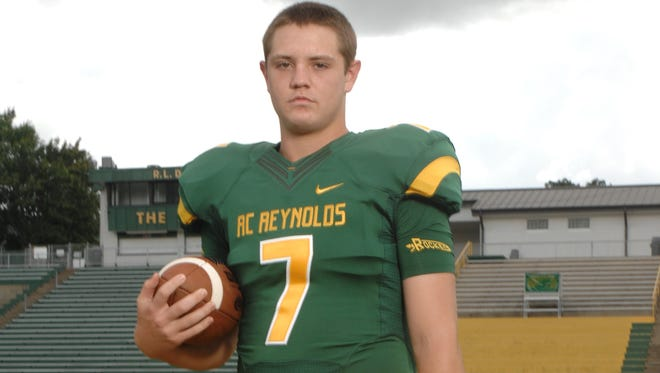Reynolds senior Andrew Wall has accepted a preferred walk-on spot with East Tennessee State football.