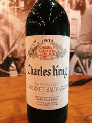 Six decades of Charles Krug wines were offered up for