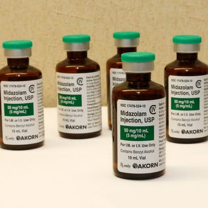 Four states have used midazolam in executions: Arizona,