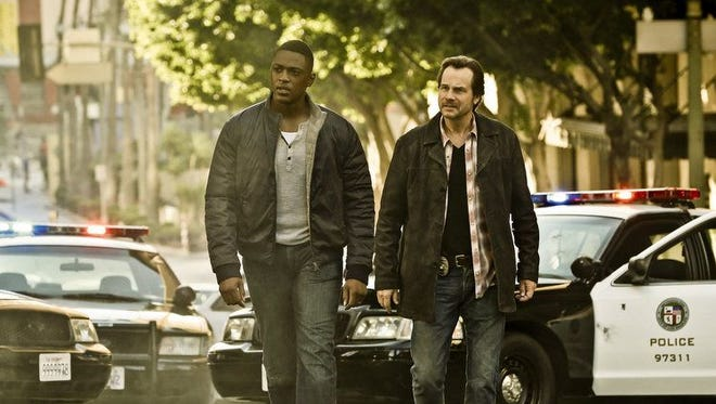 Justin Cornwell, left, and Bill Paxton star in CBS's 'Training Day.'