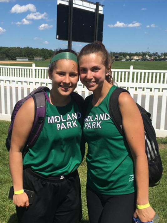 Midland Park girls track