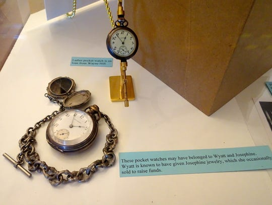 Watches were believed to have belonged to the Earps.