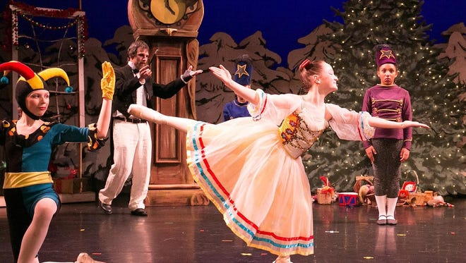 """Moving Light Dance Company presents """"Green Mountain Nutcracker"""" this weekend in Barre."""