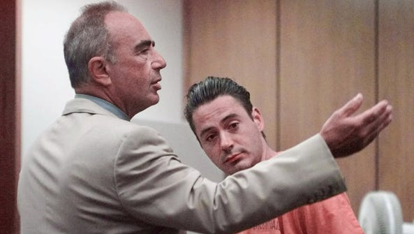 In this Aug. 5, 1999 file photo, defense attorney Robert
