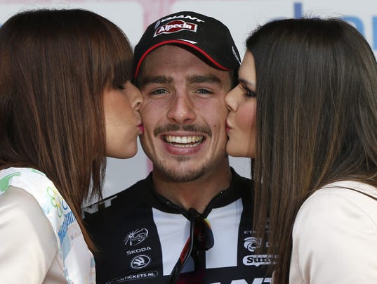 Photo of John Degenkolb & his friend   -