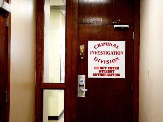 The criminal investigation division at the DeSoto Parish Sheriff's Office.