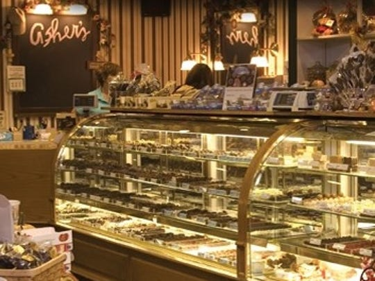 The Victorian candy store at the Asher's plant in Souderton