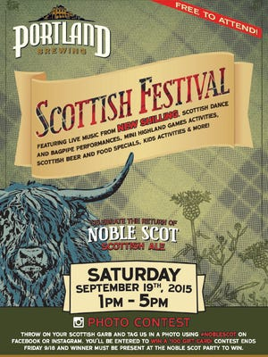 Portland Brewing Scottish Festival