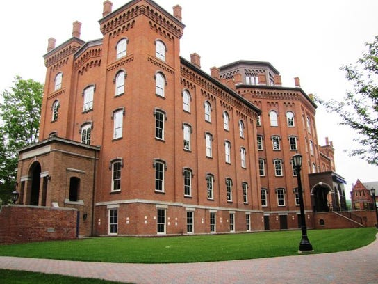 Cowles Hall at Elmira College, where generations of