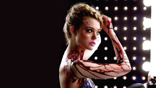 "Elle Fanning is an aspiring model in the thriller ""The Neon Demon."""