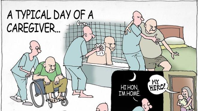 Sunday cartoon for Nov. 13, 2016