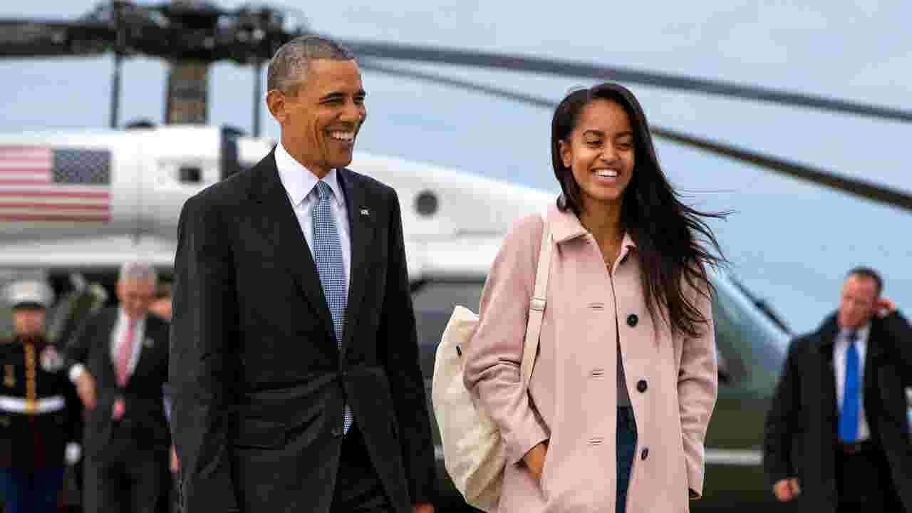 Barack Obama cried when dropping Malia Obama off at Harvard