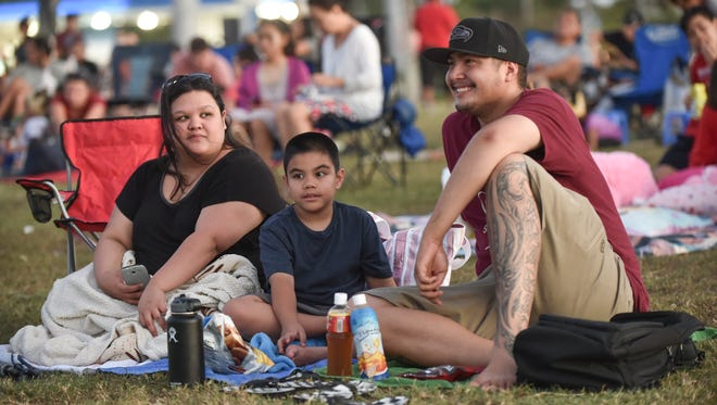 """Movies in the Park"" kicks off with a showing of Minions at Adelup on April 1. Movies in the Park will take place every Friday at sunset until April 29."