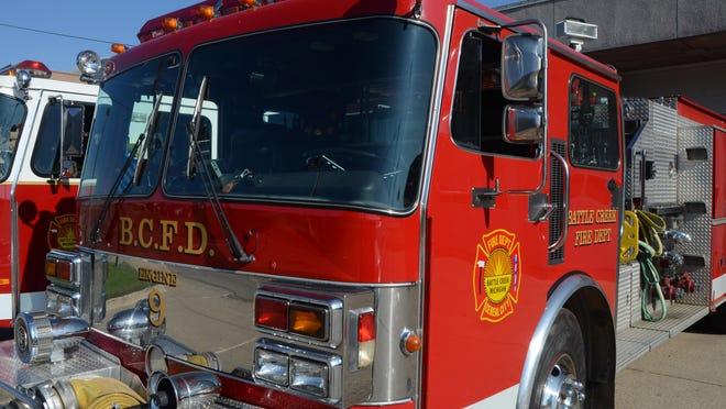 Battle Creek Fire Department truck.