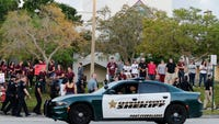Manual High School student says the Florida shooter's actions were the act of a mentally ill person who had access to weapons.