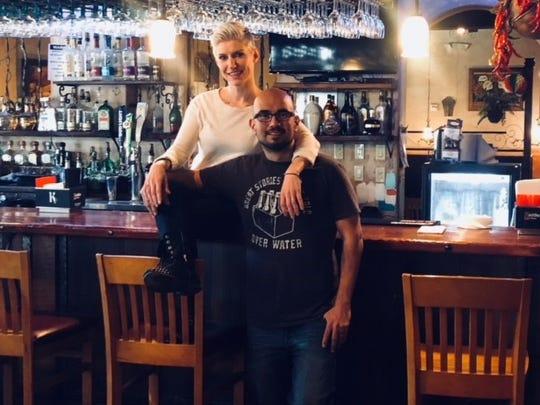 Lizz and Esteban Garcia own Yaya's Mexican Bar and