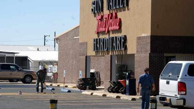 Sun Valley True Value Hardware at 1700 E. Columbus Road was broken into during the early morning hours of Thursday.
