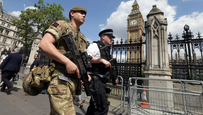 Travelers to the U.K. will face heightened security at popular attractions and travel facilities.