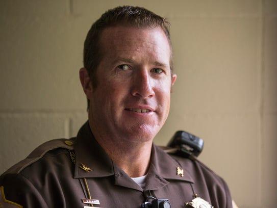Chief Deputy Michael Wilder, Warrick County Sheriff's
