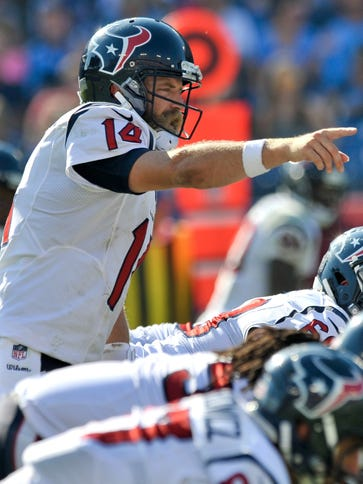 Ryan Fitzpatrick has led the Texans to four wins so