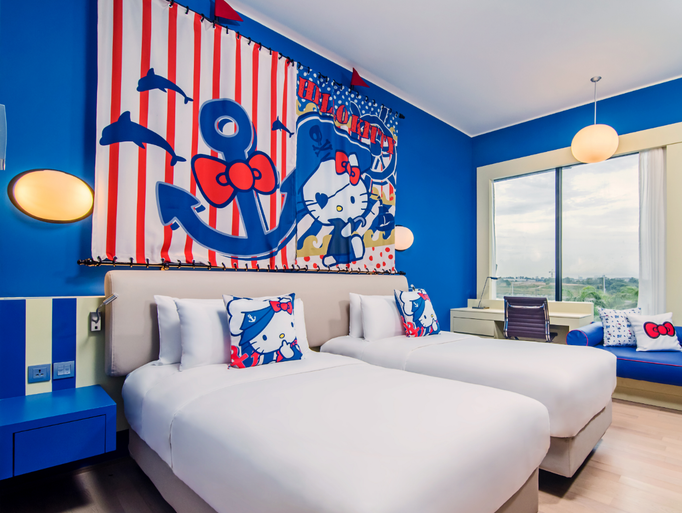 Cartoon character themed hotel experiences for Character hotel